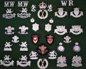 Obsolete police collar badges