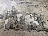 Cheshire Regiment Officers and Aberystwyth...