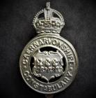 Caernarfonshire Constabulary cap badge