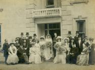 Wedding of Rev. V. W. T. Rees, Carmarthenshire,...