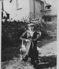 Fred Stott at home on leave at Castleland...