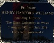 Professor Henry Harford Williams Memorial Stone...
