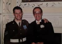 Ian Davies with his Father 2004