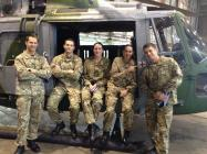 Staff and Personnel Support Team with 1...