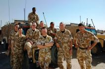 Queen's Dragoon Guards Staff and Personnel...