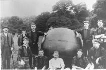 Pushball at Presteigne, Powys 1910