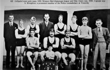 Gelligaled (Rhondda) Water Polo Team 1939.