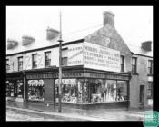 Photograph of Morris Jacobs & Sons shop, 14...