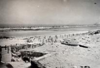 Blankenberge Beach, Belgium, 1945