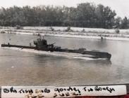 Submarine, Suez Canal, October 1945