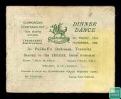 Ticket for Glamorgan Constabulary, Ton Pentre...