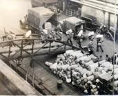 Troops Embarking, Liverpool, October 1945