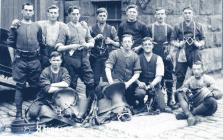 Albert Crandon with Royal Field Artillery...