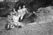 Land Army Women relaxing