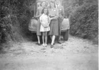 Photograph of a family wedding