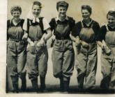 Group of Land Army women