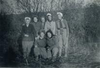 Land Army women in Winter clothing