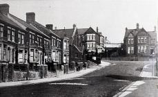 View up Windsor Road, Barry