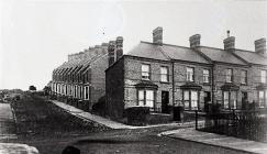 View up Trinity Street, Barry