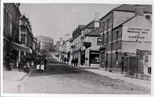 View up Vere Street, Barry