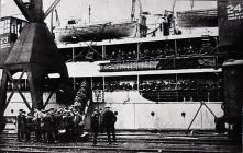 War Time Activities - Dock No. 2