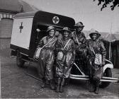 Red Cross Ambulance Crew