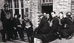 A.R.P. Wardens on Stand-by at High Street School