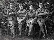 Four Soldier Friends