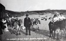 The Donkeys on the Sands, Barry Island