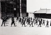 Flag Drill, Cadoxton School