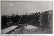 The Cutting of the First Sod