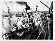 Vessel Listing in Barry docks