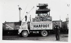 Harfoot Lorry at Barry Docks