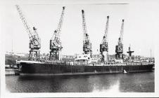 Ship in Barry Docks