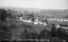 Llanblethian from Mount Ida