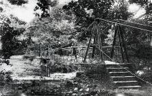 Swing Bridge, Merthyr Mawr