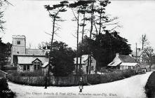 The Church Schools & Post Office, Peterston...