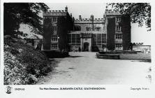 The Main Entrance, Dunraven Castle, Southerndown