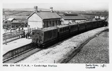 On the T.V.R. - Cowbridge Station