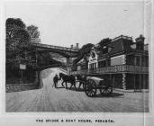 The Bridge and Boat House at Penarth