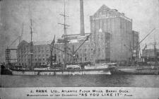 J. Rank Ltd. Atlantic Flour Mills, Barry Dock