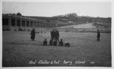 New Shelter and Fort, Barry Island