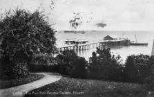 The Pier from Windsor Gardens, Penarth