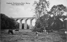 Viaduct, Porthkerry Park, Barry, from South Side