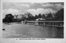 The Bathing Stage, Roath Park
