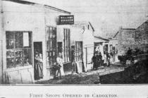 First Shops Opened in Cadoxton