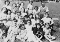 Domino Club Group of Children on Holiday