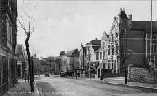 Holton Road and St. Mary's Church, Barry