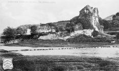 Ogmore Castle Ruins, Nr. Bridgend