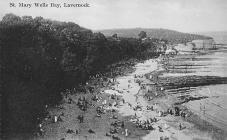 St. Mary Wells Bay, Lavernock